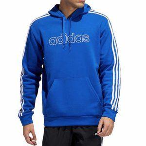 ADIDAS Men's Essential 3 Stripes Hoodie #AQ15